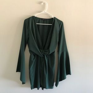 SHEIN- Casual Long sleeves/ Slit Bottom Dress